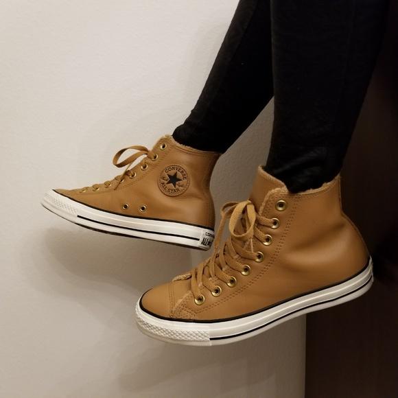 d1e8a610679a Converse Shoes - Converse Chuck Taylor All Star Leather Hi Top